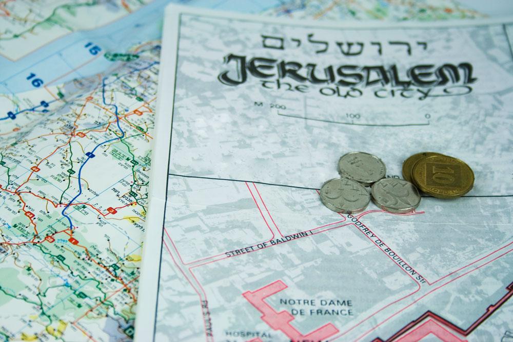 ewmt-jerusalem-map-and-coins-custom-trip-feature